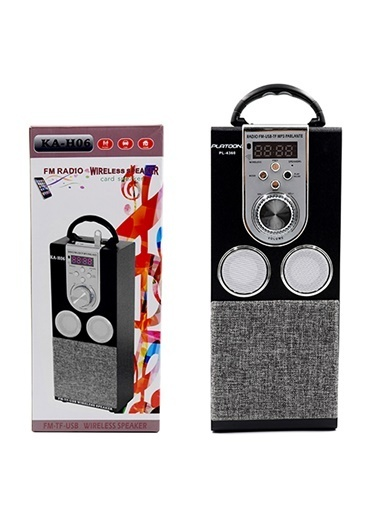 Platoon PL-4360 Bluetooth Speaker Fm/Sd/Usb Siyah